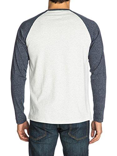 Herren Langarmshirt Quiksilver Cullen T-Shirt LS Stone