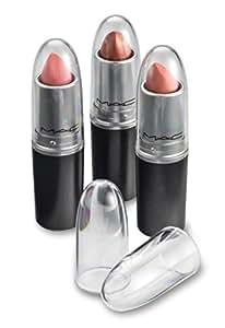 byAlegory trasparente rossetto acrilico Caps - Sostituisce originale individuale MAC Lipstick caps - See Your Favorite Rossetto Colore facilmente - (24 pacchetti)