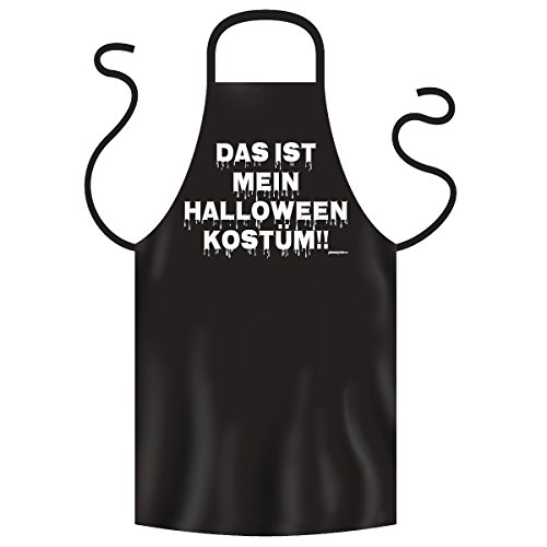 Post Kostüm Halloween (Halloween Grillschürze <-> Halloween Kostüm <-> gruseliges Mitbringsel zum Grillen, Goodman)