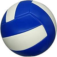 CN Voleibol de Coser de la máquina de la Calidad del Voleibol del Aire Suave de la Playa Joven del Voleibol,Azul Blanco,5