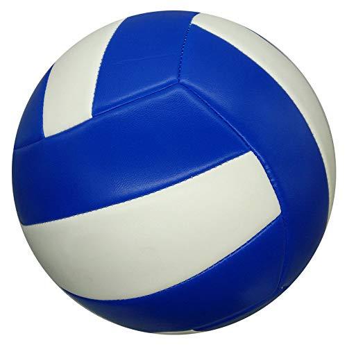 CN Volleyball Junior Beach Soft Air Volleyball Qualität Nähmaschine Volleyball,Blau Weiss,5 -