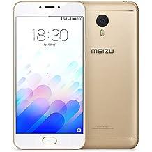 Meizu M3 note - Smartphone con pantalla de 5.5 (procesador Octacore Helio P10 2GB RAM, 16GB), color oro