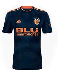 Adidas Valencia CF Segunda Equipación 2018-2019 Niño, Camiseta, Collegiate Navy-Semi