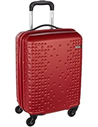 American Tourister Cruze ABS 55 cms Red Hardsided Suitcase (AN6 (0) 00 001)