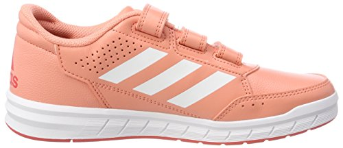 S18 S18 AltaSport Mehrfarbig Gymnastikschuhe ftwr Unisex real Coral Kinder Cloudfoam adidas Coral Chalk White wfqO8AX