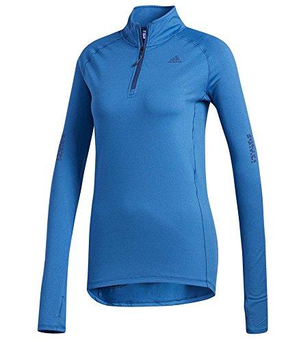 adidas Sn 1/2Zip Sweatshirt, Damen S Blau (indnob/colhtr) Preisvergleich