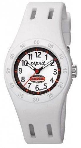 Esprit Mädchen-Armbanduhr Fun Racer Analog Quarz Plastik -