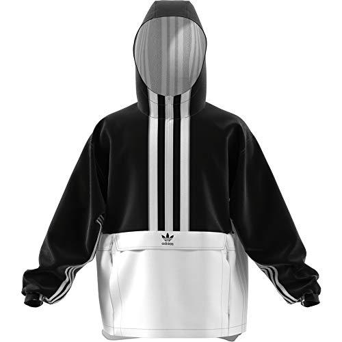 adidas AUTH Anorak Jacke, Herren, schwarz (schwarz/weiß) XL schwarz/weiß -