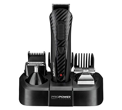 BaByliss For Men Pro Power Carbon Multi-Groomer - 41TEB6LJvfL - BaByliss For Men Pro Power Carbon Multi-Groomer