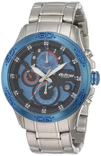 Titan 90047KM02  Chronograph Watch For Unisex
