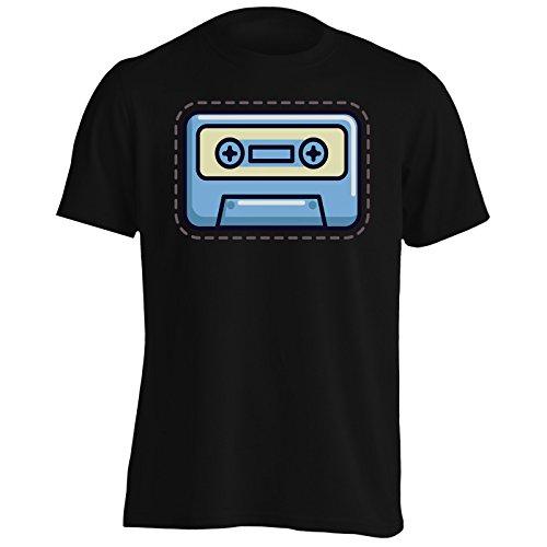 INNOGLEN Cassette Smile Frão Camiseta de los Hombres r619m