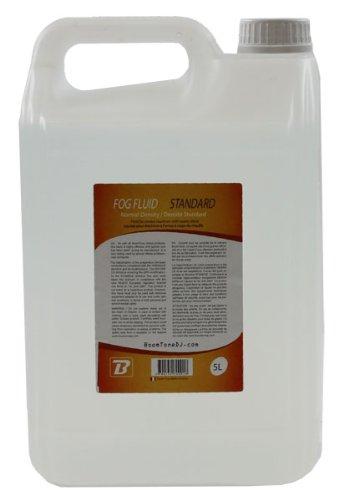 BoomToneDJ Nebelfluid, Flüssigkeit für Nebelmaschinen, Transparent 5 L durchsichtig