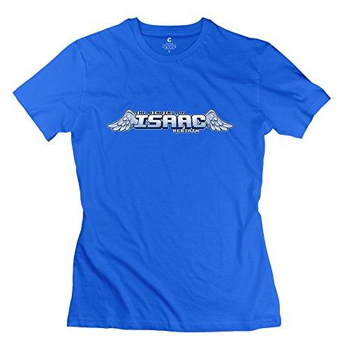 Nana-Custom Tees - Camiseta - para mujer Negro azul real XXL