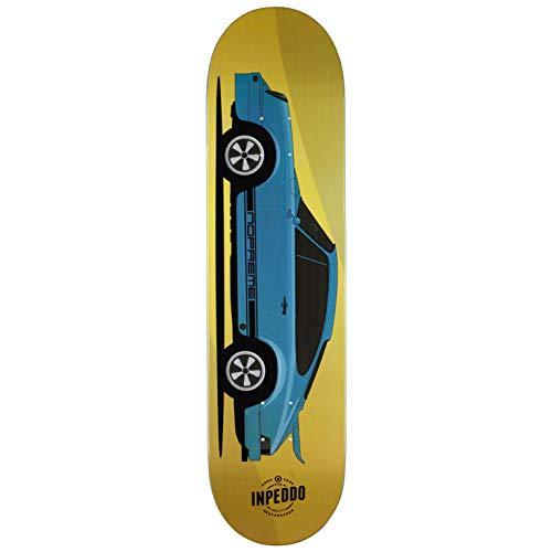 "Inpeddo x Nopreme Skateboard Deck Fast Classics 1974 Seventyfour 8.5\"" (Yellow)"