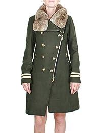 Kocca Cappotto Donna BAWTOK Colore Verde kaky Collezione  Autunno-Inverno  2018 19 bdb2f194a39