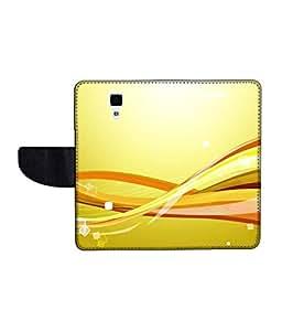 KolorEdge Printed Flip Cover For Redmi Xiaomi MI 4 Multicolor - (50KeMLogo10944XiaomiMi4)