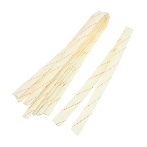 Amico Sellify 21mm x 80cm Fiberglass Insulating Sleevings 5 Pcs for Electrical Wire