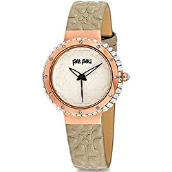 Clock folli-follie wf13b032spi-lw SRA Leather Strap