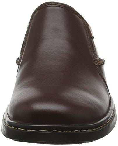 Hush Puppies Alan Hanston, Mocassins Homme Marron - Brown (Dark Brown Leather)