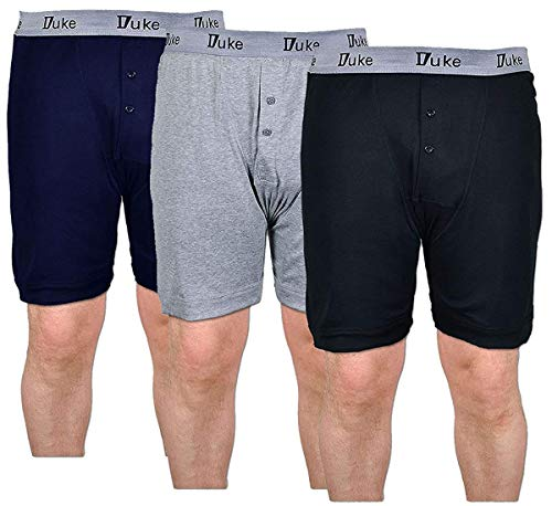 Short Boxer Grand King Size Duke London KS2005 Conducteur Hommes PACK DE 3