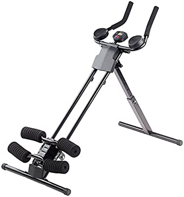 PEARL sports Heimtrainer: Ganzkörper-Fitness- & Bauchtrainer HT-200 mit Trainingscomputer (Ganzkorpertraining) von PEARL sports