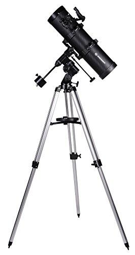Bresser Spiegelteleskop Spica EQ 130/650 mit Smartphone Kamera Adapter