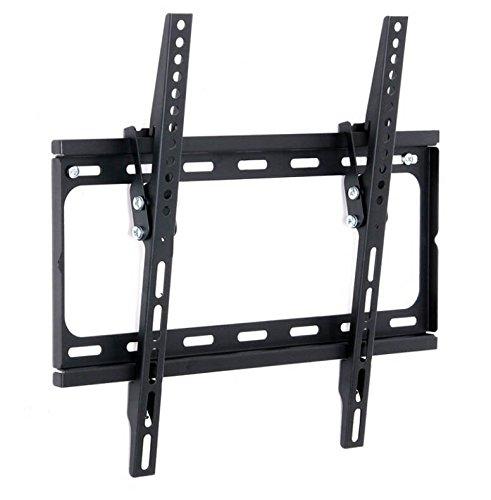 hongic Soporte de pared para TV de 26–55inch LCD LED 3d Plasma TVS Super Strong 50kgs Peso Capacidad 15grados de Mecanismo de inclinación arriba/abajo VESA: 75* 75mm a 400* 400mm.