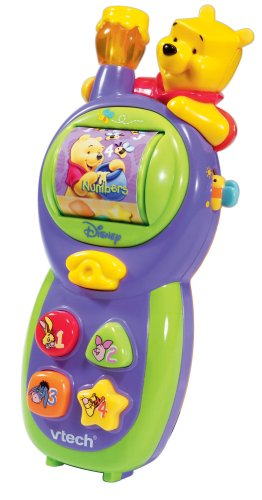 Click for larger image of VTech Winnie the Pooh Call 'n Learn Phone