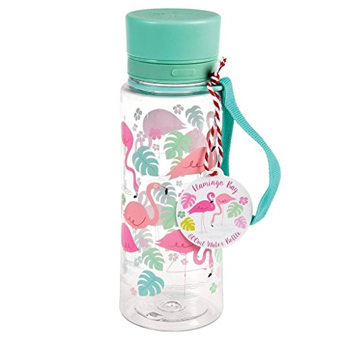 Rex International 27293 - Botella, diseño flamencos