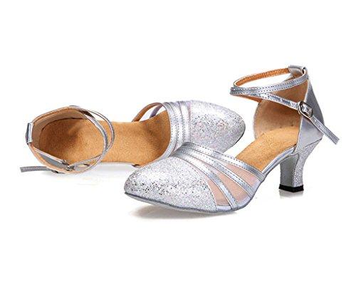 Meijili Silver ballo da Scarpe donna x0xqvYPgSw