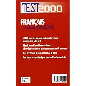Français vocabulaire