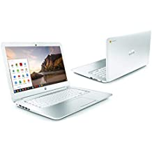 "WHITE HP CHROMEBOOK 14"" G1 INTEL 1.4GHZ 4GB RAM 16GB SSD HD WEBCAM CHROME OS (Refurbished)"