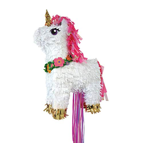 Amscan P19733 Pull Pinata Magical Unicorn Spielzeug, -
