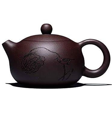 YOJDTD Pot de Zisha Fait à la Main théière Pot de Pierre Pot de thé Ensemble de théière