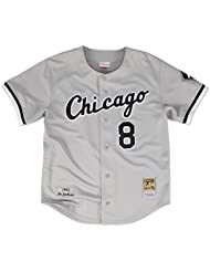 Bo Jackson Chicago White Sox Mitchell & Ness Authentic MLB 1993 Button Up Jersey Maillot
