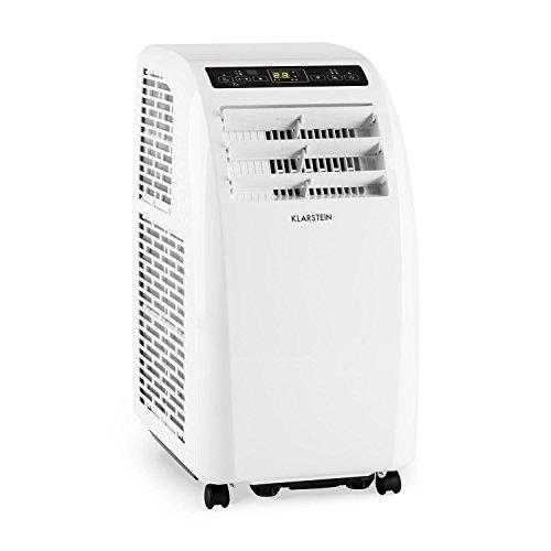 Klarstein Metrobreeze Rom • Climatiseur Mobile • Ventilateur • Température Entre 18 et 30°C • Minuterie • Puissance 10000 BTU • Trois Vitesses • Classe énergétique A+ • Blanc