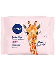 NIVEA 3in1 Mizellen-Reinigungstücher, 6er Pack(6 x 25 Stück)