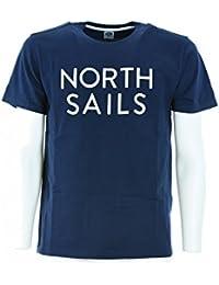 NORTH SAILS hombres de la camiseta de manga corta 694441 000 0035