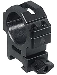 UTG Montageringe Utg Universalmontageringe 30mm Mittleres Profil - Mira de arma para caza, color negro