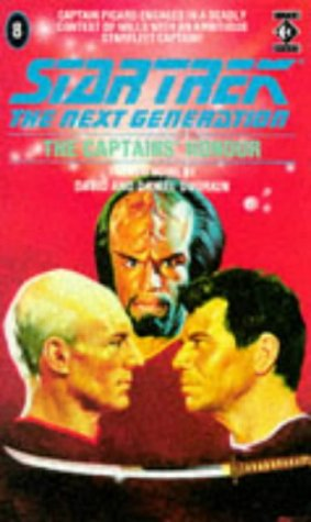 Cover of The Captains' Honour (Star Trek: The Next Generation 8)