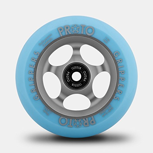Proto Gripper Faded Stuntscooter Rolle 110mm + Fantic26 Sticker (grau/blau) -