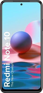 Redmi Note 10 (Shadow Black, 4GB RAM, 64GB Storage) - Amoled Dot Display | 48MP Sony Sensor IMX582 | Snapdrago