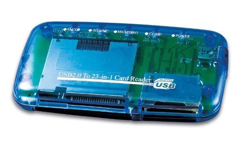 Gembird FD2-ALLIN1 Card-Reader/Writer USB 2.0 blau