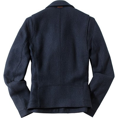 BOSS Orange Herren Jacke Obrian 50296715 in Military-Design Blau