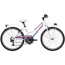 "Ferrini BK13FE8505 Camilla 24 «Bicicleta Para Niños. Blanco blanco Talla:24""x350mm"