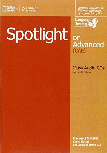 SPOTLIGHT ON ADVANCED (CAE) CLASS AUDIO CDS