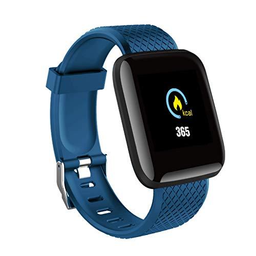 A-Artist Smartwatch Smart Armband Blutdruck Uhr Herzfrequenz Wasserdicht Fitness Tracker Aktivitätstracker GPS Bluetooth Sports Watch Schlafmonitor Schrittzähler für iOS Android