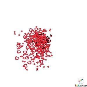 """SUSY CARD - confeti TARJETA DE SUSY""""Herz"""", en la película, couleur: rouge"""