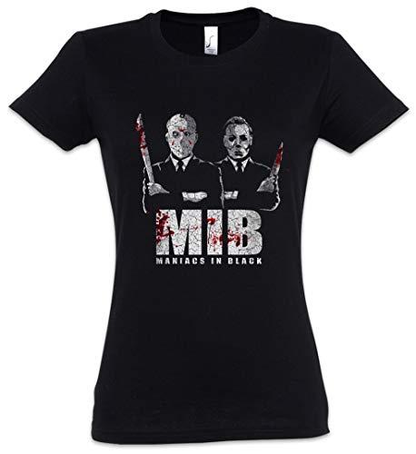 Maniacs In Black Damen T-Shirt