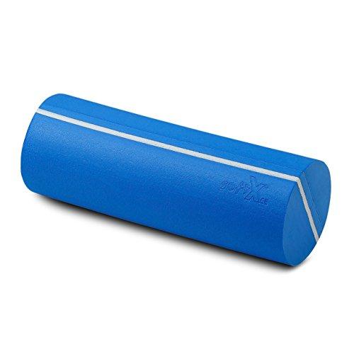 softX Faszien Trainingsgerät Rolle 145, blau, mit Markierungsstreifen, ca. 40 x 14.5 x 14.5 cm